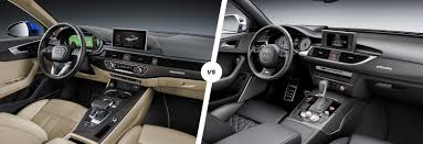 audi a4 interior 2012. comparison of audi a4 and a6 interior dashboards 2012