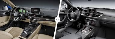 audi a4 2013 interior. comparison of audi a4 and a6 interior dashboards 2013