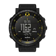 Suunto Core <b>Black Yellow</b> TX - Outdoor watch with barometer