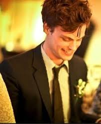 spencer reid smiling. imagine: you \u0026 spence on your wedding day. gaze up at him lovingly, only to notice the permanent smile etched his face. spencer reid smiling