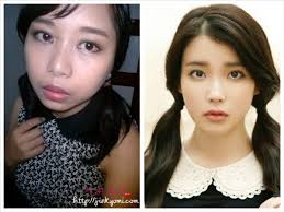 she has a really pretty face and her image requires natural makeup so how do i look please let me know your ments i ll be waiting annyeong
