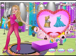 barbie fashion dress up games hair styling hair salon games