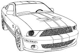 Small Picture Car Coloring Pages Mustang Coloring Pages