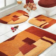 orange bathroom rug set home design ideas orange and pink bathroom rugs orange bathroom rugs and