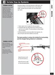 manual for a k m60 vn airsoft aeg instruction page 10