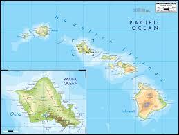 map of united states and hawaii  lapiccolaitaliainfo