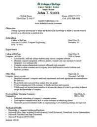 Example Of Mid-Level Reverse Chronological Resume Download For Free ...