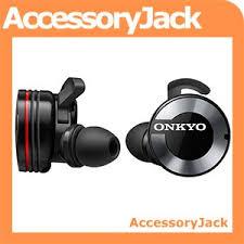 onkyo w800bt. onkyo w800bt bluetooth true wireless headphones with microphone and charging case (black) w800bt