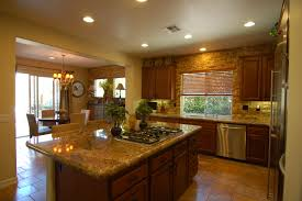 Granite Island Kitchen Wood And Stainless Steel Kitchen Island Decoration Kitchen Center