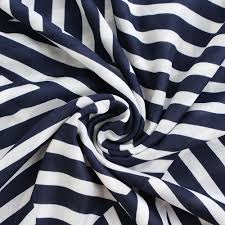 Designer Silk Scarves Us 6 83 43 Off Bqacces 140 140cm Women 100 Cotton Square Scarf Geometric Navy Stripe Print Designer Silk Scarves High Quality Lady Hijab Large In