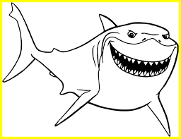 Finding Nemo Coloring Pages Pdf With Finding Nemo Coloring Pages