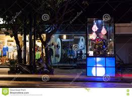 Bali Designer Shops Seminyak Street Bali Editorial Photography Image Of Line