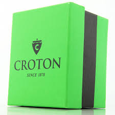 mens croton leather slim new casual watch cn307464ssdw mens croton black leather slim casual watch cn307464ssdw