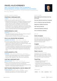 2 Page Resume Format 2019 The Best Template