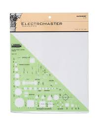 Note Paper Template Inspiration Amazon Rapidesign Electro Master Template 48 Each R48