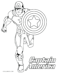 Captain America Coloring Page For Kids Coloring For Babies Amvame