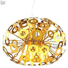 golden lighting chandelier autumn twilight 12 light