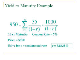 Example Of A Coupon New Coupon Bonds The Yield To Maturity Always Equals The Coupon Rate