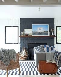 best painted brick fireplaces ideas on pertaining to painting a fireplace color paint fire