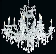 white crystal chandelier amazing and chandeliers for regarding white crystal chandelier ciara dd antique white
