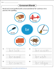 Phonics is a method of teaching kids to learn to read by helping them to match the sounds of letters, and groups of letters, to distinguish words. Consonant Blends Worksheets
