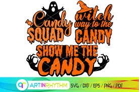 Silhouette Halloween Candy Svg Download Free And Premium Svg Cut Files
