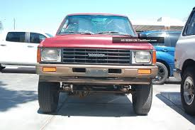 1987 Toyota Pickup 4x4 Hilux, Tacoma 22r Base Model Work Mate Off ...