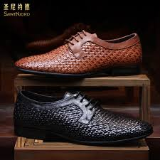 get ations italian men s handmade braided leather soled leather shoes men s business dress shoes derby