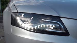 Audi A4 Front Lights Change Or Remove Headlights On A Audi A4 B8