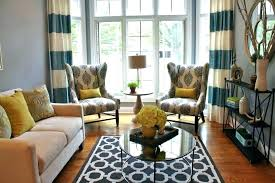 blue pillows on brown couch what color for a rug decorating around sectional bro