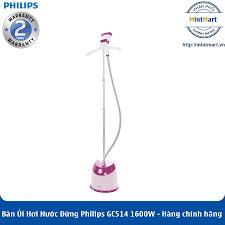 Bàn Ủi Hơi Nước Đứng Philips GC514 1600W - Hàng Chính Hãng - Bảo Hành 2 Năm  Toàn