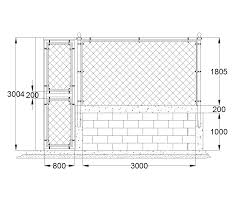fence drawing. Fence Drawing