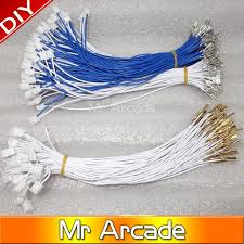 aliexpress com buy 50pcs jamma harness button wires jamma How To Wire A Jamma Harness 50pcs jamma harness button wires jamma buttons wires for arcade game machine cabinet accessories how to install a jamma harness