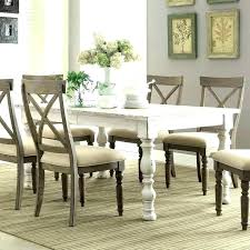 rustic white dining table. Perfect Table Rustic White Dining Set Distressed Chair  Chairs Decoration   Intended Rustic White Dining Table 9