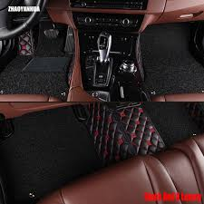 ZHAOYANHUA car floor mats made for Toyota Prius XW30 Vios 5D full ...