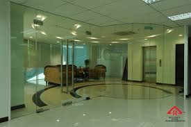 glass partition tempered glass