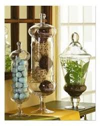 Apothecary Jars Decorating Ideas Cute apothecary canisters for display on hall table Decorating 13