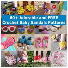 Crochet Baby Sandals Pattern Stunning 48 Adorable And FREE Crochet Baby Sandals Patterns