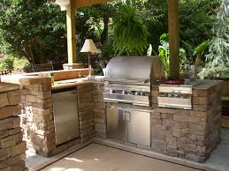 kitchen decorating stainless steel outdoor kitchen island corner pertaining to outdoor kitchen barbecue how to build