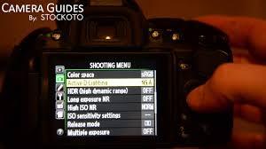 D Lighting Nikon D5300 How To Set Active D Lighting Or Dynamic Range On A Nikon D5100 D5200 D5300