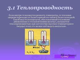 Презентация на тему Реферат Теплообмен и его виды Выполнил  Три основных вида передачи тепла Конвекция теплопроводность излучение