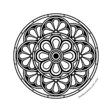You need to explain them do not go out the lines. Mandalas Coloring Pages For Adults