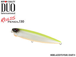 Lure Weight Chart Duo Realis Pencil 130 Sw Limited Length 130mm Weight