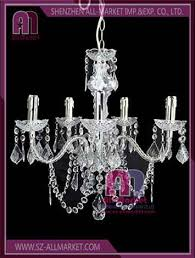 view details crystal candle chandelier am c708
