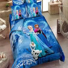 princess elsa anna olaf frozen twin full queen single double comforter duvet quilt cover sheet pink blue cartoon kid bedding set bedding sets bedding