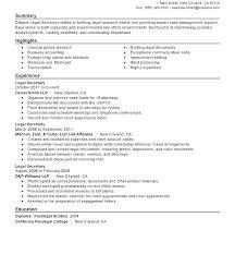 Sample School Secretary Resume Best of Legal Secretary Resume Samples Administrativelawjudge