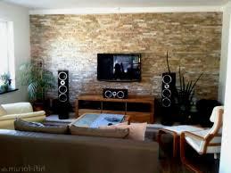 Wohnzimmer Ideen Wandgestaltung Stein Luxus 44 Neu