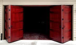 bi fold garage doorsBifold Doors Weatherproof Wood Garage Door  Nonwarping patented