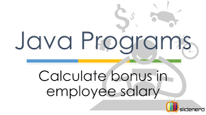 salary should be your bonus