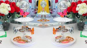 dollar tree diy lazy susan spinning glass tier jewelry cupcakes makeup you